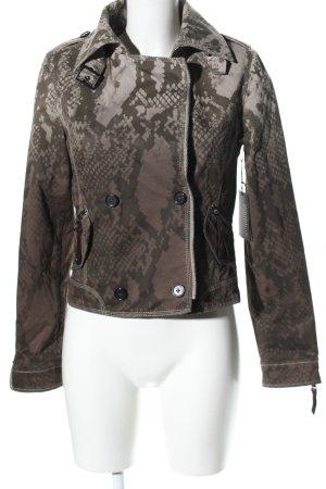 Blonde No. 8 Kurtka przejściowa brązowy Na całej powierzchni W stylu casual