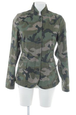 Blonde No. 8 Übergangsjacke Camouflagemuster Casual-Look