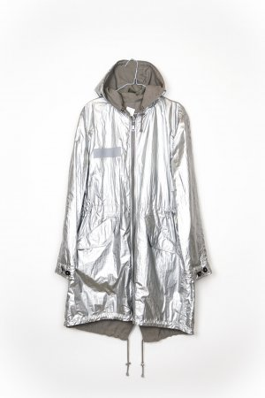 Blonde No. 8 Abrigo de entretiempo color plata-gris