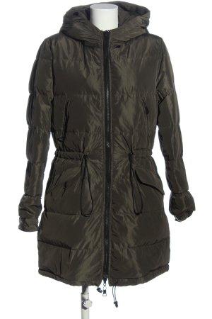 Blonde No. 8 Giacca invernale grigio chiaro motivo trapuntato stile casual