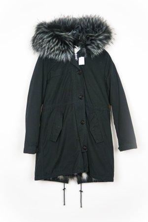 Blonde No. 8 Wintermantel ANNA 316 Parka Fake Fur Neu Gr. M/ 38 schwarz