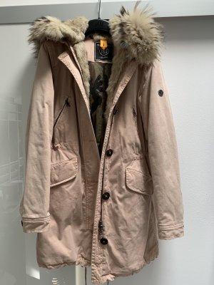 Blonde No. 8 Płaszcz zimowy różany