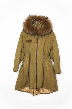 Blonde No. 8 Manteau de fourrure brun sable