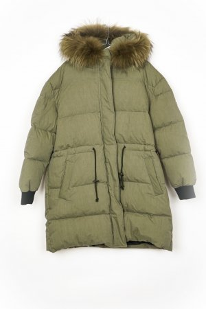 Blonde No. 8 Abrigo de plumón gris verdoso
