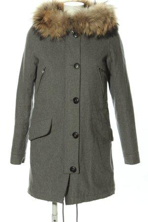 Blonde No. 8 Cappotto in lana grigio chiaro stile casual