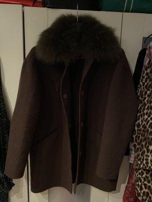 Blonde No. 8 Cappotto in lana multicolore