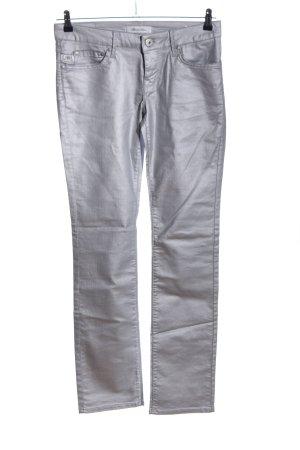 Blood & Glitter Vaquero skinny gris claro look casual