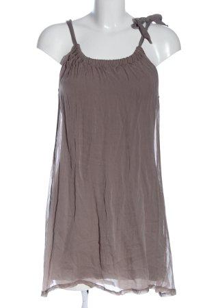 Bloom Mouwloze blouse lichtgrijs casual uitstraling