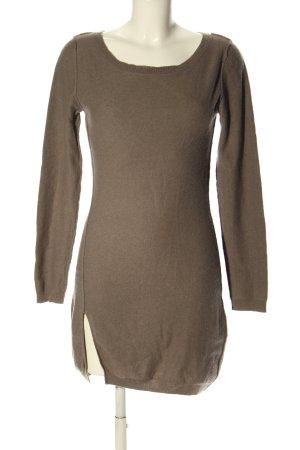 Bloom Pullover in cashmere marrone stile casual
