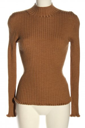 Bloom Feinstrickpullover braun Casual-Look