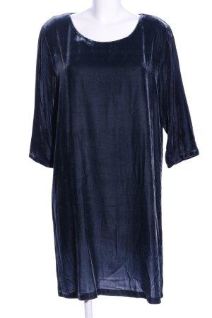 Bloom Sukienka z długim rękawem niebieski W stylu casual