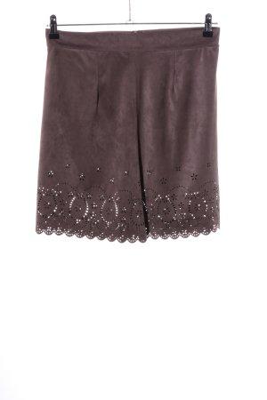 Bloom Spódnica mini brązowy W stylu casual