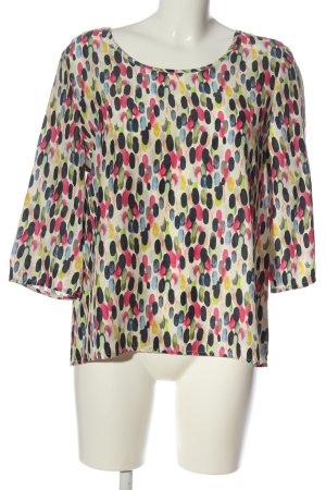 Bloom Blusa in seta stampa integrale stile casual