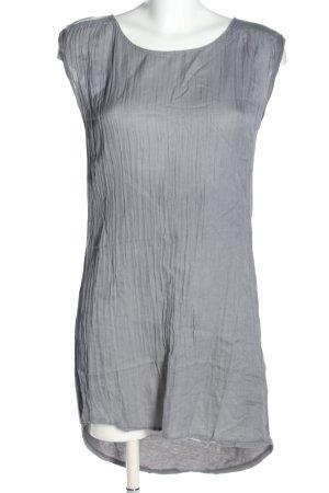Bloom T-shirt jurk lichtgrijs casual uitstraling