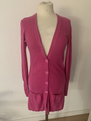 Bloom Veste en tricot magenta-rose