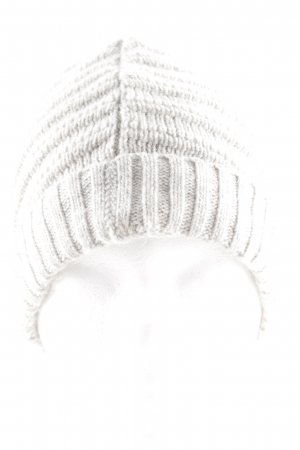 Bloom Knitted Hat natural white-light grey cable stitch casual look
