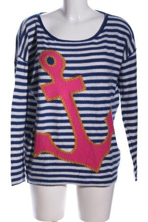 Bloom Maglione lavorato a maglia Stampa a tema stile casual
