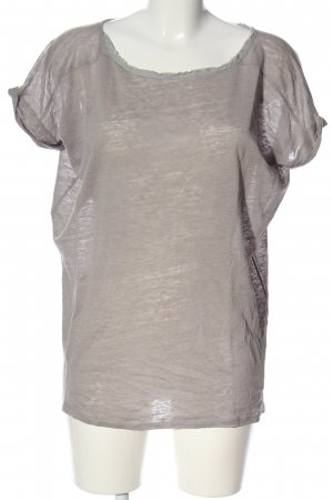 Bloom T-shirt grigio chiaro stile casual