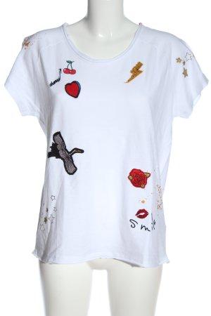 Bloom T-shirt multicolore stile casual