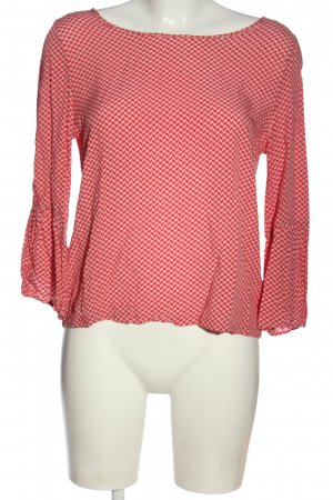 Bloom Boothalsshirt roze-rood volledige print elegant
