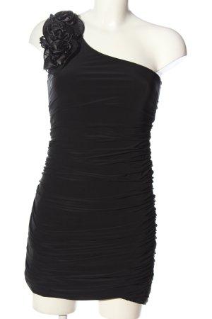 Bloose Sukienka na jedno ramię czarny Elegancki