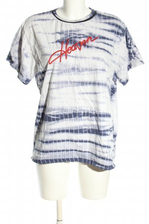 blouse by geoffrey J.Finch Batikshirt abstraktes Muster Casual-Look