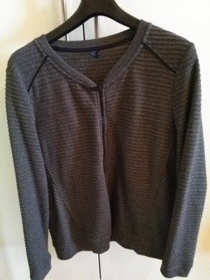 Cecil Blouson noir-gris coton