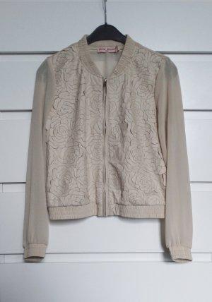 Jaune Rouge Marynarka koszulowa Wielokolorowy Tkanina z mieszanych włókien