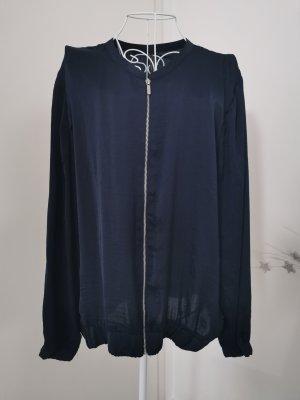 blouson jacke blau