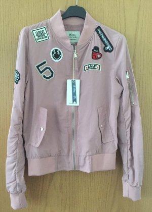 Blouson Jacke von Softy outerwear Collection Gr. XS-rosa-schwarz/NEU