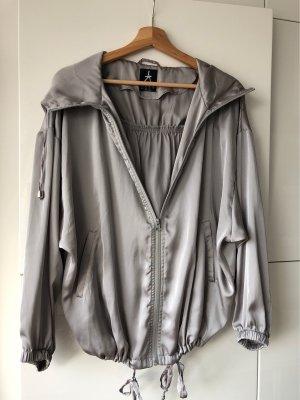 Blouson Satin Silber metallic gr 38