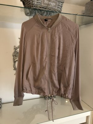 H&M Blousejack lichtbruin-taupe