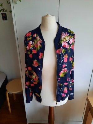 Blousonjacke mit floralem Muster -NEU-