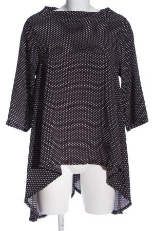 Blu Royal Lange blouse volledige print casual uitstraling