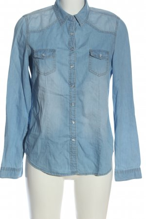 Blue Asphalt Chemise en jean bleu style mode des rues