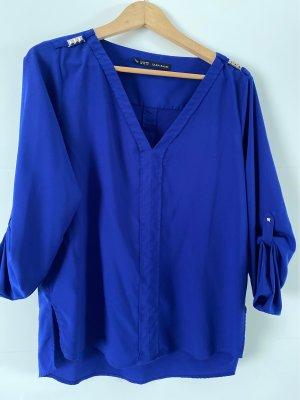 Blue Bluse von ZARA