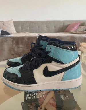 Air Jordan Zapatillas altas multicolor tejido mezclado