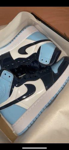 Air Jordan Wysokie trampki Wielokolorowy Tkanina z mieszanych włókien