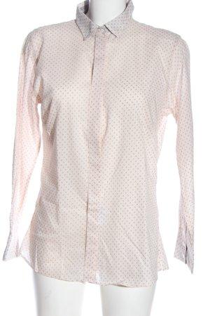 blue collar Shirt met lange mouwen roze-lichtgrijs volledige print