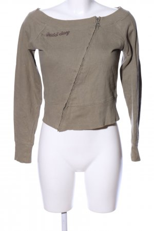 BLUE COLLECTION Sweatshirt bruin casual uitstraling