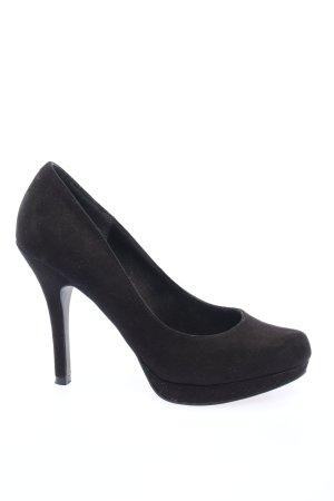 Blue Cox High Heels black business style