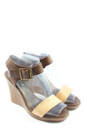 Blue Cox Sandały na platformie brązowy W stylu casual