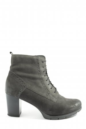 Blue Cox Lace-up Booties black casual look