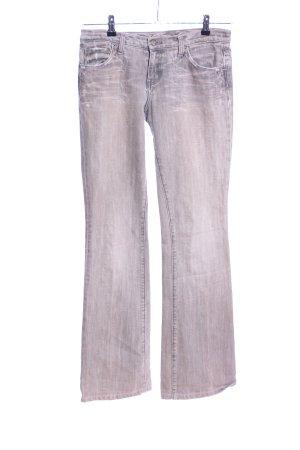 Blue Cult Jeans flare rose-gris clair style décontracté