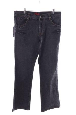 Blue Cult Jeans coupe-droite noir style décontracté