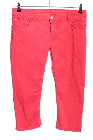Blue Fire Pantalone a 7/8 rosso stile casual