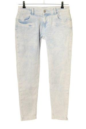 Blue Fire 7/8 Jeans hellgrau Casual-Look