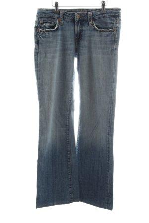 Blue Fire Jeansy o kroju boot cut niebieski W stylu casual