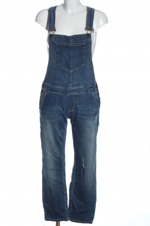 Blue Fire CO Bib Denim blue casual look