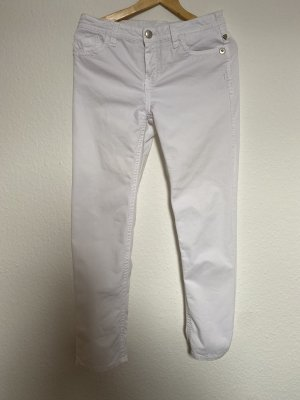 Blue Fire Jeans cigarette blanc